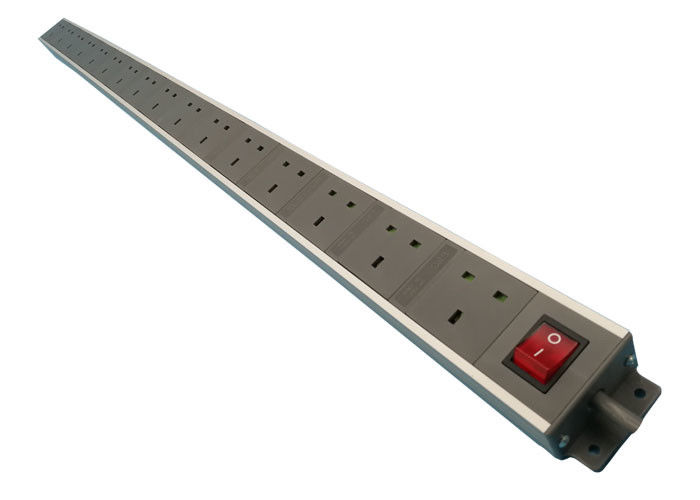 48 Inch Horizontal Muitifunction UK Power Distribution 16 Way Unit with Switch