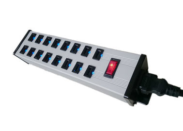 16 Ports USB Charging Power Strip for IPad MP3 , 5V 2.4A Multiple USB Charger