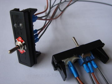 125/250VAC Electronic Micro Toggle Switch , Industrial Toggle Switches On Off