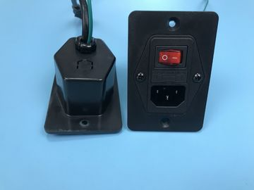Appliance C14 Inlet,Universal AC Outlet With Plug IEC C7 Cable Connector